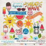 Dog Days of Summer Stickers by lliella designs