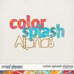 Color Splash Alphas