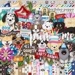 Birthday Puppy by lliella designs