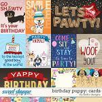 Birthday Puppy Cards by lliella designs