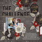 Layout by Rebecca using Keep the Faith by lliella designs
