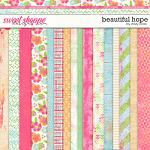 Beautiful Hope Pattern Papers