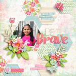 Beautiful Hope Layout by Cherry