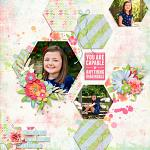 Beautiful Hope Layout by Holly