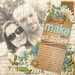 Digital Scrapbook Kit: A Happy Thought