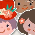 Shiny Happy People Stickers 2 by lliella designs