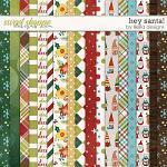 Hey Santa Papers by lliella designs