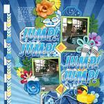 Layout by Rebecca using A Pool Day by lliella designs
