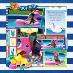 Layout by Cassie using A Pool Day by lliella designs