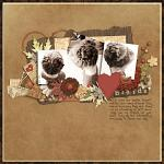 Digital Scrapbook Kit: Autumn's Chorus by Krystal Hartley