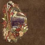 Digital Scrapbook Kit: Autumn's Chorus by Krystal Hartley