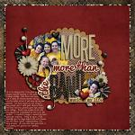 layout by Carriesmom - border paper from artsy pack