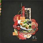 A digital scrapbooking layout by Sanka using Oishii by lliella designs