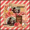 Sun Kissed digital scrapbook kit