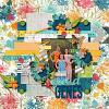 Layout featuring Good Genes digital scrapbook kit by Krystal Hartley