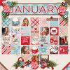 In Review: 2016-01 :: Template :: Layout by Mother Bear
