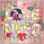 Layout by Jill using Fancy Partea by lliella designs