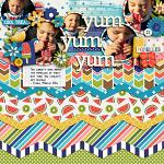 I Love: Summer :: Layout by nettio