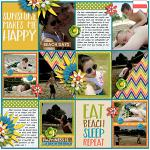I Love: Summer :: Layout by jumblebumble