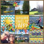 I Love: Summer :: Layout by 4noisyboys