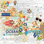 I Love: Summer :: Layout by Conny S.