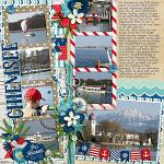 Layout by Martina using Sail Away by lliella designs