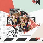 No 1 Dad :: Layout by Melissa Marti