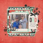 No 1 Dad :: Layout by Lala