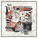 No 1 Dad :: Layout by Conny S.