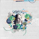 #Be Positive: I Am Enough :: Layout by Mother Bear