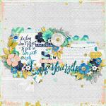#Be Positive: I Am Enough :: Layout by crystalbella77