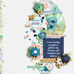 #Be Positive: I Am Enough :: Layout by nettio