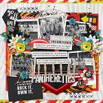 #Be Positive: So Fierce :: Layout by emmasmommy
