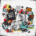 #Be Positive: So Fierce :: Layout by Conny S.