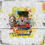#Be Positive: So Fierce :: Layout by Amy Hoogstad