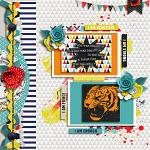 #Be Positive: So Fierce :: Layout by Tammy Zautner
