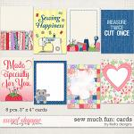 Sew Much Fun Cards by lliella designs