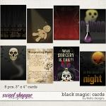Black Magic: Cards by lliella designs