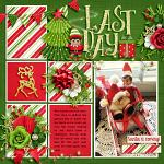 Layout by Jacinda using Jolly Elves by lliella designs