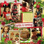 Layout by Jill using Jolly Elves by lliella designs