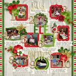 Layout by Sara using Jolly Elves by lliella designs
