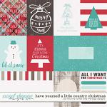 Have Yourself A Country Little Christmas :: Cards