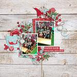 Have Yourself A Country Little Christmas :: Layout by Jacq