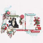 Have Yourself A Country Little Christmas :: Layout by Miranda
