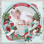 Have Yourself A Country Little Christmas :: Layout by Eveline