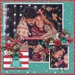Have Yourself A Country Little Christmas :: Layout by Jenna