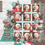 Have Yourself A Country Little Christmas :: Layout by Conny