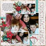 Have Yourself A Country Little Christmas :: Layout by AngiePangie
