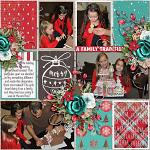 Have Yourself A Country Little Christmas :: Layout by Cassie