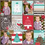 Have Yourself A Country Little Christmas :: Layout by Krista